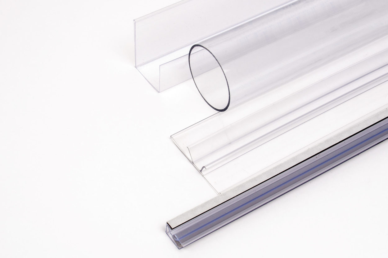 Clear Custom Profile Extrusions by Formtech Enterprises