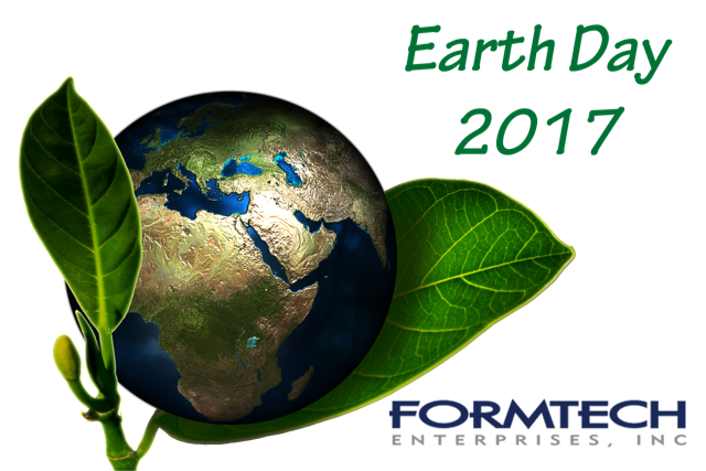 Formtech Custom Plastic Extrusions Support Earth Day 2017